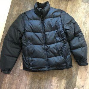 Eddie Bauer | Navy Blue Goose Down Puffer Jacket